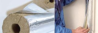 Otuliny instalacyjne z wełny mineralnej - WOOL instaline