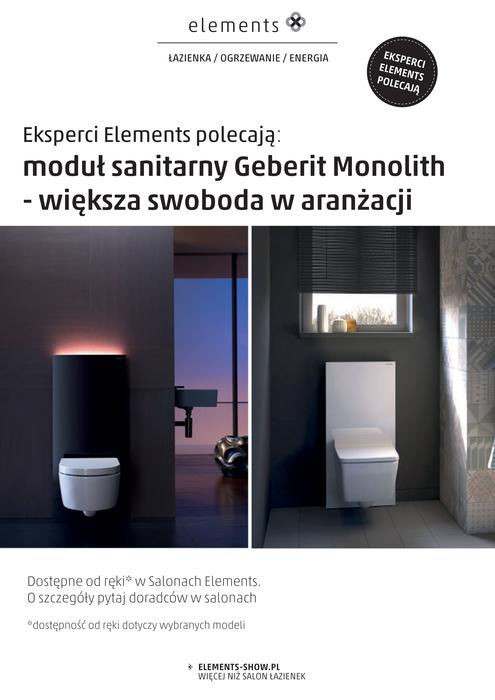 Geberit Monolith Większa Swoboda W Aranżacji Bims Plus